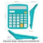 Calculatrice, Helect Fonction Standard Calculateur de Bureau (Bleu) de la marque Helect image 1 produit