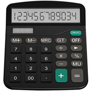 Calculatrice, Helect H1001 Fonction Standard Calculateur de Bureau de la marque Helect image 0 produit