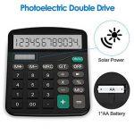 Calculatrice, Helect H1001 Fonction Standard Calculateur de Bureau de la marque image 2 produit