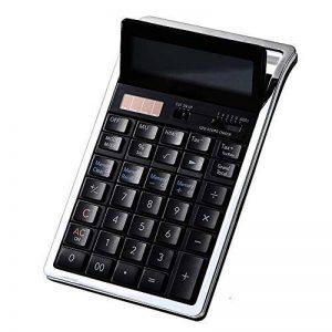 Calculatrice Électronique De Bureau Standard avec 12 Chiffres Grand Écran Solaire Et Batterie Dual Power Office Utilisation de la marque Calculator image 0 produit