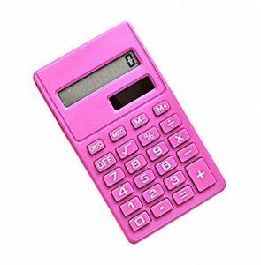 Calculatrice portative de mini carte solaire de puissance créatrice Rose rouge de la marque Black Temptation image 0 produit