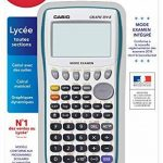 calculatrice scientifique graphique programmable TOP 2 image 1 produit