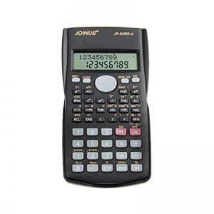 Calculatrice Scientifique Multi-Fonction Machine à Calculer de Poche 10 Chiffres Pour Etudiant Collège - Gris Foncé de la marque LY image 0 produit