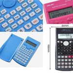 calculatrice scientifique rose TOP 13 image 1 produit