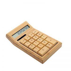 Calculatrice solaire en bambou naturel Sengu de la marque Sengu image 0 produit