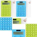Calculatrice solaire pour les affaires de bureau à domicile de la marque Black Temptation image 1 produit