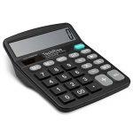 Calculatrice, TechRise Fonction Standard Calculateur de Bureau, Calculatrice de bureau à 12 chiffres de la marque TechRise image 2 produit