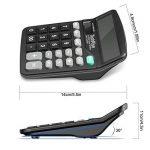 Calculatrice, TechRise Fonction Standard Calculateur de Bureau, Calculatrice de bureau à 12 chiffres de la marque TechRise image 3 produit