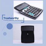 Calculatrices,Calculatrices de bureau /Grande calculatrice à 14 chiffres Solaire et Pile Calculatrice d'affaires Noir de la marque Little ants image 3 produit