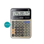 Calculatrices,Grande calculatrice/Calculatrices de bureau à 14 chiffres Solaire et Pile Calculatrice d'affaires avec Calcul taxe Calculateur de la marque Little ants image 1 produit