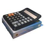 Calculatrices,Grande calculatrice/Calculatrices de bureau à 14 chiffres Solaire et Pile Calculatrice d'affaires Noir de la marque Little ants image 3 produit