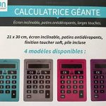 Calculette geante, faire une affaire TOP 7 image 2 produit