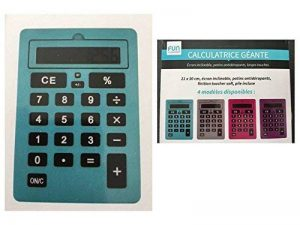 Calculette geante, faire une affaire TOP 8 image 0 produit