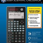 calculette non programmable TOP 8 image 3 produit