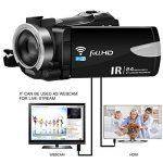 Caméscope sous-Marin Caméra vidéo 24MP Appareil Photo numérique étanche Enregistreur vidéo Full HD 1080P Selfie Double écran DV Enregistrement de la marque SEREE image 4 produit