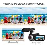 Caméscope sous-Marin Caméra vidéo 24MP Appareil Photo numérique étanche Enregistreur vidéo Full HD 1080P Selfie Double écran DV Enregistrement de la marque SEREE image 1 produit