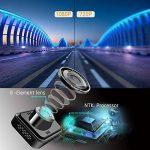 Caméra de voiture, Byakov Dashcam voiture enregistreur de conduite Full HD 1920x1080P 1.5 pouces Mini Dash-Cam pour voiture 170 degrés Angle voiture DashCam avec G capteur, WDR, détection de mouvement de la marque Byakov image 1 produit