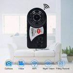 Caméra Espion, Caméra Cachée WiFi TANGMI Mini Caméscope DV Enregistreur Vidéo de Poche Vision Nocturne Infrarouge iOS Android Control de la marque TANGMI image 1 produit