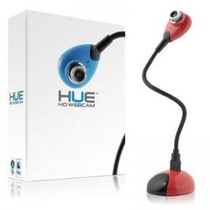 Caméra USB HUE HD pour Windows et Mac (Rouge) de la marque Hue HD image 0 produit