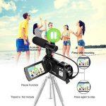 Caméscope sous-Marin Caméra vidéo 24MP Appareil Photo numérique étanche Enregistreur vidéo Full HD 1080P Selfie Double écran DV Enregistrement de la marque SEREE image 2 produit