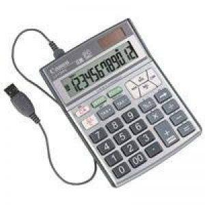 Canon 8462A001 Calculatrice LS-120PC : Calculatrice connect ée 12 positions sur écran Large écran LCD Calcul de taxes Fonctions principales de calcul Câble USB livr é en standard de la marque Canon image 0 produit