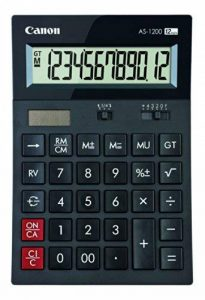 Canon AS-1200 Calculatrice de bureau à 12 chiffres de la marque Canon image 0 produit