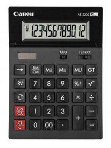 Canon AS-2200 Calculatrice de bureau 12 chiffres Design ARC de la marque Canon image 0 produit