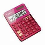 Canon LS-123K Calculatrice de Bureau - Rose de la marque Canon image 1 produit