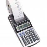Canon P1-DTSC Calculatrice portable avec imprimante + Chargeur AD-11 12 chiffres Ecran LCD Calcul taxe / rentabilit é de la marque Canon image 1 produit