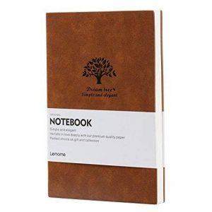 Carnet Ligné/Cahier - Lemome Medium A5 Journal - Papier de qualité supérieure - Carnet de notes à couverture souple Notebook classique de 5x8 pouces de la marque Lemome image 0 produit