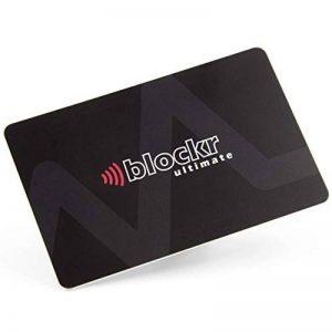 Carte de Blocage RFID - Protecteur de Carte crédit sans contact RFID avec indicateur LED et application Android gratuit (d'origine) de la marque Blockr image 0 produit