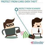 Carte de Blocage RFID - Protecteur de Carte crédit sans contact RFID avec indicateur LED et application Android gratuit (d'origine) de la marque Blockr image 3 produit