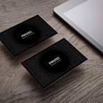 Carte de Protection Anti-RFID Privise ‣ Protège Carte bancaire, Carte de crédit, d'identité & Passeport sans Contact; Blocage Anti piratage Etui/Portefeuille Entier sans Pochette - 100% sûr de la marque image 2 produit