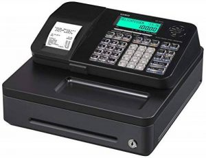 Casio Antenne s100sb FIS gdpdu enfichables Caisse enregistreuse Inclusive Pile et logiciel licence, SD Card pack complet et Hot Line gratuite, Noir de la marque Casio image 0 produit