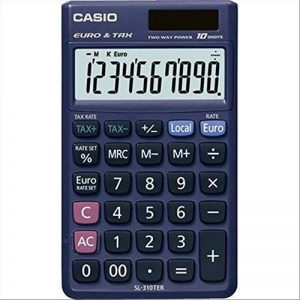 CASIO Calculatrice de poche 10 chiffres 310TER de la marque Casio image 0 produit