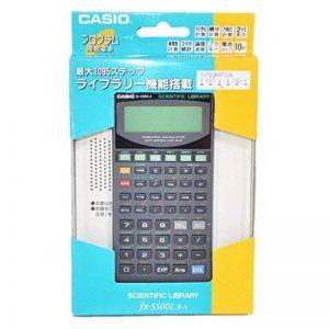 CASIO - calculette modèle FX 5800 P, alimentation par piles 1 x LR03/AAA fournie 250 fonctions, écran 4 lignes à 16 chiffres (81-FX5800P) de la marque Casio image 0 produit