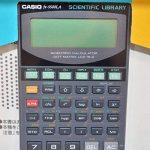 CASIO - calculette modèle FX 5800 P, alimentation par piles 1 x LR03/AAA fournie 250 fonctions, écran 4 lignes à 16 chiffres (81-FX5800P) de la marque Casio image 2 produit
