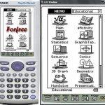 CASIO CLASSPAD 330 - Ecran tactile 16 lignes x 24 colonnes, 38400 pixels + crayon tactile, écriture en gras possible, présentation sur diapositive, calculs sur les vecteurs, écart type, fonctions géométrique, tableur, dessin, coffret coulissant - Cable US image 2 produit