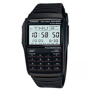 Casio - DBC-32-1AES - Montre sport Homme - Quartz Digitale - Calculatrice - Répertoire - Chrono - 5 Alarmes - Fuseaux Horaires - Convertisseur - Bracelet et boitier en résine noire de la marque Casio image 0 produit
