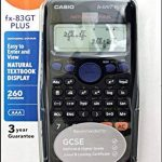 Casio FX-83GTPLUS Calculatrice scientifique (Import Royaume Uni) de la marque Casio image 2 produit