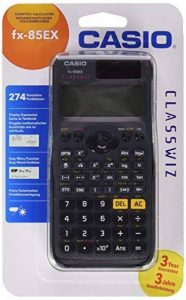 Casio FX-85EX Poche Calculatrice scientifique Noir calculatrice - Calculatrices (Poche, Calculatrice scientifique, Batterie/Solaire, Noir) de la marque Casio image 0 produit