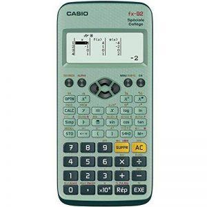 CASIO fx 92 + Calculatrice scientifique Spéciale Collège de la marque Casio image 0 produit