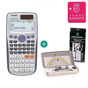 CASIO FX 991 ES PLUS Calculatrice de poche nouveau modèle + Garantie premium 60 mois + Set Géométrie Premium de calcuso.de de la marque Calcuso.de/Casio image 0 produit