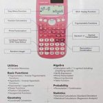Casio FX85GT Calculatrice scientifique Rose (Import Royaume Uni) de la marque Casio image 3 produit