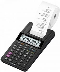Casio HR8RCE Calculatrice Imprimante Semi Professionnelle Noir de la marque Casio image 0 produit