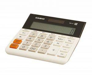 Casio MH-12-WE Bureau Calculatrice basique Noir, Blanc calculatrice - calculatrices (Bureau, Calculatrice basique, 12 chiffres, 1 lignes, Batterie/Solaire, Noir, Blanc) de la marque Casio image 0 produit