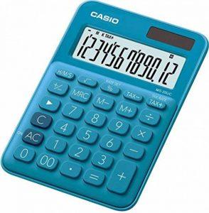 Casio MS 20UC BU Calculatrice de bureau Bleu de la marque Casio image 0 produit