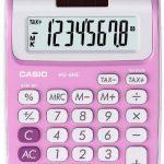 Casio MS 6 NC Calculatrice avec 8 chiffres Rose de la marque Casio image 1 produit
