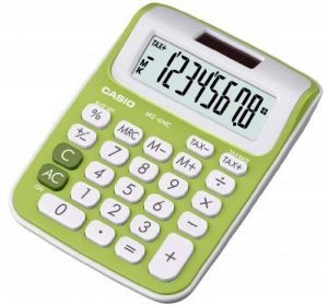 Casio MS 6 NC Calculatrice avec 8 chiffres Vert de la marque Casio image 0 produit