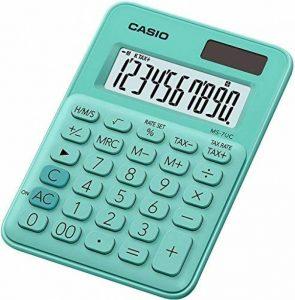 Casio MS 7UC GN Calculatrice de bureau Vert de la marque Casio image 0 produit
